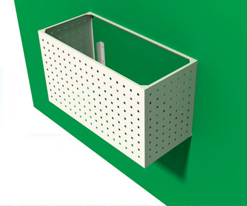 Фасадный ящик для кондиционера: конструктивные особенности